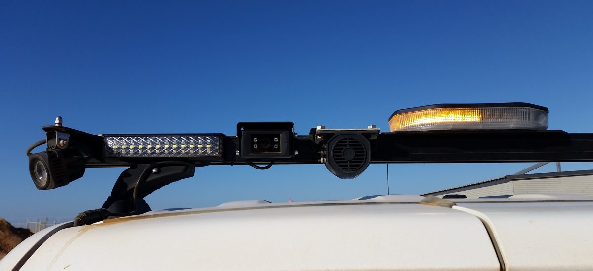 Rear camera on roof lightbar4