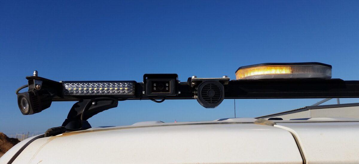Rear camera on roof lightbar4